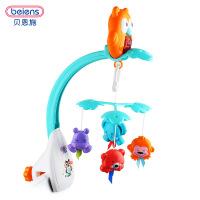 贝恩音乐旋转床铃 0-1岁新生儿安抚玩具 儿童宝宝早教益智玩具