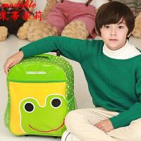 茉蒂菲莉 拉杆箱 女童新款儿童拉幼儿园卡通双肩包满额减韩版可爱男童可拆卸手拉箱防水背包