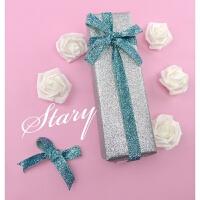 星光璀璨 金粉银色礼品礼物包装纸 超大1米2米相框画框闪光加厚