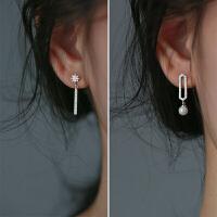 不对称星星耳环气质耳坠长款个性吊坠潮人饰品