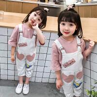 女童运动套装女宝宝小女孩儿童衣服
