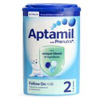 英国Aptamil爱他美婴幼儿配方奶粉2段(6-12个月宝宝)900g 保