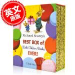 现货 理查德・斯凯瑞12本小金书套装 儿童绘本 100年诞辰纪念 英文原版 Richard Scarry's Best