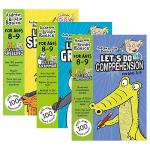 英国小学英语练习册3本套装 阅读语法拼写 8-9岁小学四年级英文原版全彩英文小学教材 Let's Do Grammar