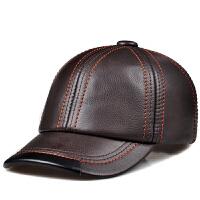 秋冬季女士帽子时尚休闲帽子男士头层帽棒球帽户外