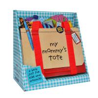 英文原版儿童3D立体书 Workman My Mommy s Tote 我妈妈的手提包/皮包 立体造型操作书 儿童启蒙