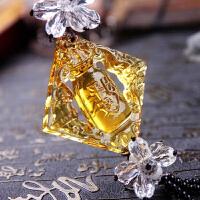 幻海   琉璃汽车香水挂件  水晶珠出入平安挂件汽车内饰用品