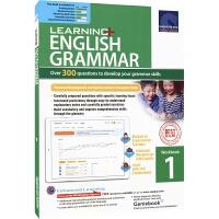 【预售30天发货】SAP Learning Grammar 1 学习系列小学一年级英语语法练习册 7岁 新加坡教辅 新亚