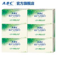 ABC茶树精华卫生湿巾6盒 共108片