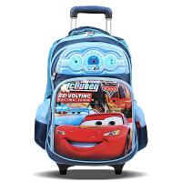 迪士尼 儿童拉杆书包小学生男童1-6年级汽车书包可拆卸 SC80110