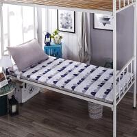 加厚上下铺榻榻米床垫学生宿舍床褥0.9米 1.0m单人床1.2m垫被1.5m