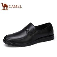 【领券下单立减111元】camel 骆驼男鞋 新品低帮鞋 商务休闲舒适套脚男士皮鞋子