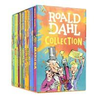 Roald Dahl Collection 罗尔德・达尔的作品全集15册 儿童英语章节书 女巫 好心眼的巨人 了不起的