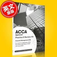 现货 ACCA考试 新版 财务管理 练习册 Financial Management Practice & Revis