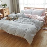 天竺棉四件套针织棉4件套纯棉全棉家纺裸睡床品