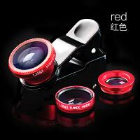 手机照相机镜头广角微距鱼眼三合一套装安卓通用华为网红神器单反摄影长焦专业外置变焦拍照多功能外接超高清