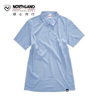 【顺心而行】NU诺诗兰户外夏季时尚翻领T恤快干排汗素色POLO衫KL075310