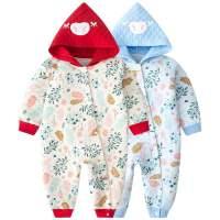 婴儿连体衣春秋夏季薄款0-3月6宝宝衣服纯棉哈衣夏装