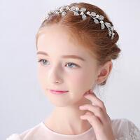 公主皇冠发箍儿童头箍演出发饰女童头饰王冠儿童皇冠发饰女童头饰