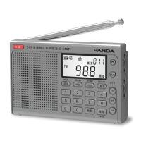 熊猫/PANDA 6137全波段老人收音机充电英语四六级46听力高考考试