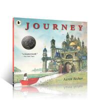 进口英文原版 Journey探索不可思议的旅程 三部曲之一 儿童启蒙晚安无字书 作者艾伦贝克尔 正版图画绘本 亲子共读