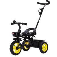 宝仕儿童三轮车脚踏车婴儿手推车出口欧美免充气钛空轮双刹车1-3岁 T301贝瑞