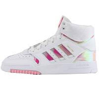 Adidas阿迪达斯女鞋三叶草运动休闲鞋高帮板鞋EG3634