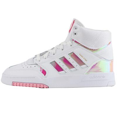 Adidas阿迪达斯女鞋三叶草运动休闲鞋高帮板鞋EG3634 三叶草运动休闲鞋高帮板鞋