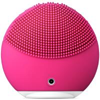 美国直邮 FOREO斐珞尔 Luna Mini2 露娜电动洁面仪 毛孔清洁电子美容仪 硅胶 清洁器洗脸刷 紫红色 海外