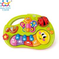 手指启蒙掌上益智学习琴0-6-12个月婴儿宝宝哄睡安抚音乐玩具中文