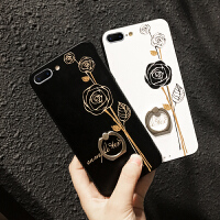 6手机壳带指环8全包防摔黑白花个性7p大气女款