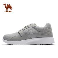 骆驼男鞋 春 透气网面鞋子运动休闲鞋男低帮男鞋跑步鞋