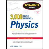 英文原版 物理3000题 Schaum's 3,000 Solved Problems in Physics (Sch