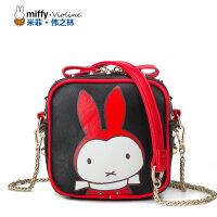 Miffy米菲 新款卡通斜挎单肩包韩版时尚女士迷你女包包袋潮