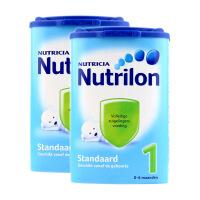 荷兰Nutrilon牛栏奶粉1段(0-6个月宝宝) 850g二罐装