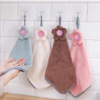 超细纤维擦手巾 厨房洗碗清洁防烫挂式百洁布 加厚吸水抹布