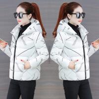 冬季小棉袄女2018新款韩版短款厚面包服ins深秋羽绒棉衣外套 白色 S