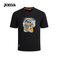 JOMA荷马巴斯奎特Basquiat联名男士短袖T恤20年夏季新款潮上衣男满200减40
