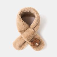 宝宝围巾婴幼儿春秋冬保暖男女儿童围脖格子小孩脖套