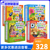 Nonfiction Sight Word Readers Level ABCD 学乐英语入门关键字词 4盒 100册全套 自然拼读 phonics
