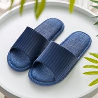 日式夏季情侣浴室拖鞋女夏2019新款洗澡男女家居家用室内凉拖