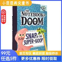 进口原版 Snap Of The Super-Goop 毁灭日记#10:捕捉怪物[7-10岁]