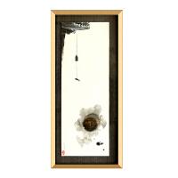 新中式装饰画禅意画玄关书房挂画软装画茶楼中式挂画样板房实物画 可定制尺寸 设计师设计 独立