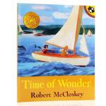 凯迪克金奖英文原版绘本 Time of Wonder 美好时光 夏日海湾 平装 1958年 海边三部曲之一 关于爱与成