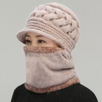 №【2019新款】冬天带的老年人女士帽子加绒毛线帽婆婆妈妈过冬老人冒子 均码(有弹性)
