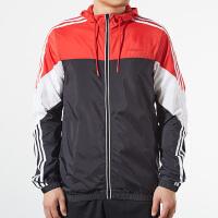 Adidas阿迪达斯 男装 运动防风衣休闲连帽夹克外套 EJ7071