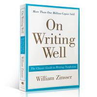 顺丰发货 英文原版 On Writing Well 英语写作法宝 外文原版书作文 英文经典写作指南 2016新版 进口