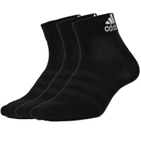 Adidas阿迪达斯男袜女袜三双装运动袜休闲短筒袜子DZ9436
