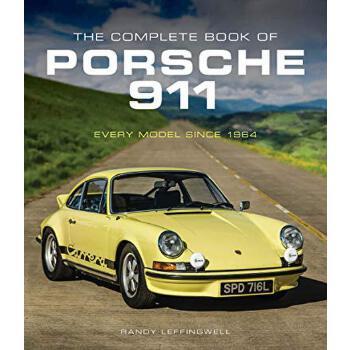 英文原版 保时捷911全书 The Complete Book of Porsche 911: Every Model Since 1964