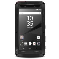索尼ompact三防手机壳Z5套防摔硅胶软边框E6683外壳 4.6寸 白色